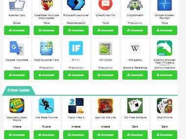 Design & Devloped a Codeigniter Website