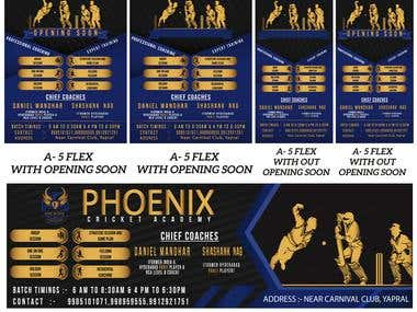 Phoenix Banner And Flyers
