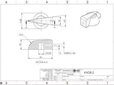 Small knob design