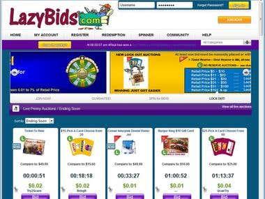 Auction Web Site