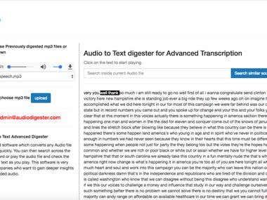 Audio Digester - http://www.audiodigester.com