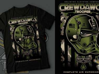crewdawgs t shirt star wars