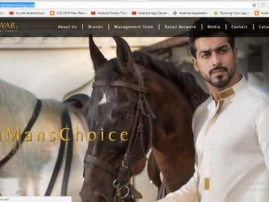 men suiting brand site