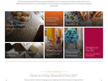 Service Provide Website