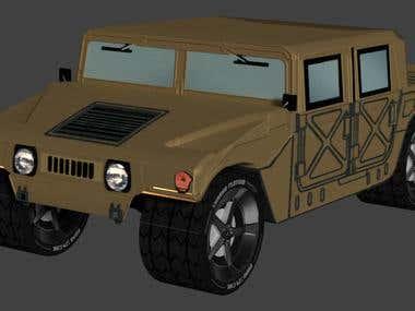 Hummer - 3D Model