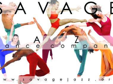 Postcard Mailer Savage Jazz Dance Co.
