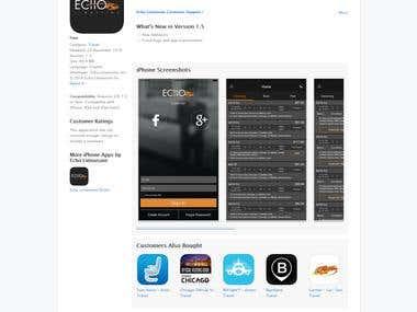echo : Mobile App