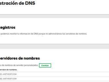 Dns hosting email setup
