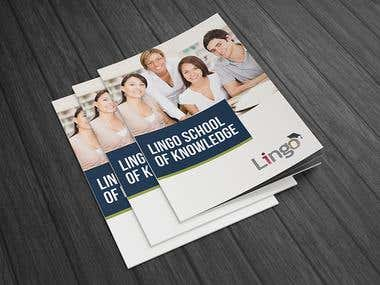 Lingo School of Knowledge – Language Center [BROCHURE]