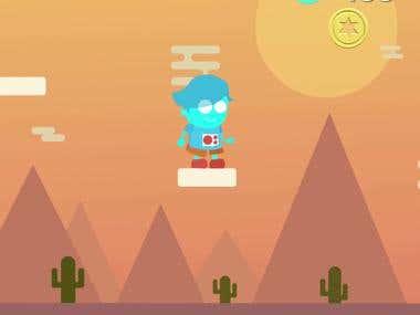 Robo Kid (Game concept)