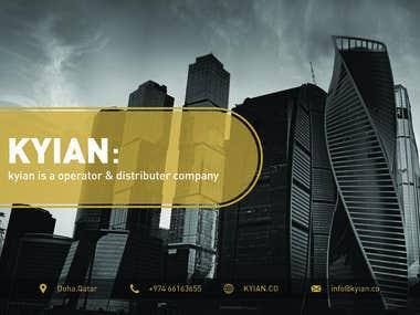 Company Profile Page Design
