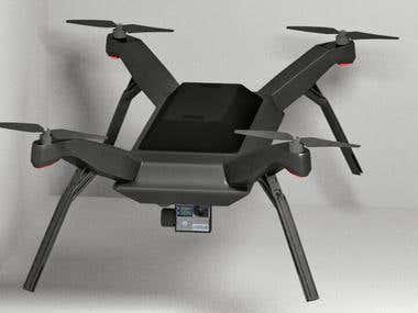 3DR Solo Drone - 3D Model