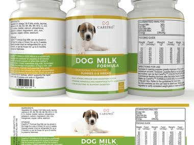 Dog Milk Packaging