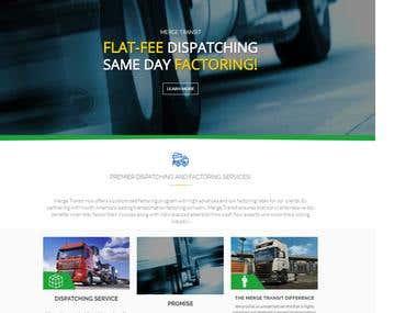 Transport Website on-based Laravel framework