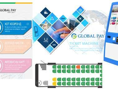 Ticket machine application