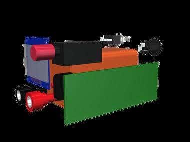 Cabinet 3D design