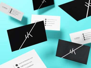 Logotipo and business cards