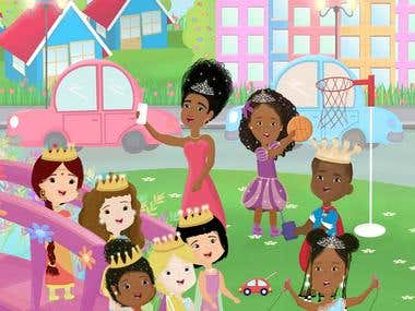 Children's Book (My Forever Princess)