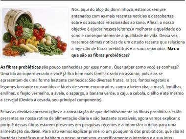Artigo para blog / Portuguese
