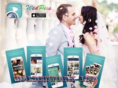 Wedding app (ionic)