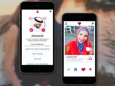 Dating Android & IOS APP