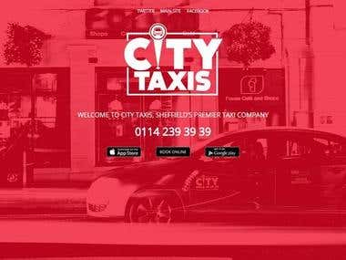 City taxis website