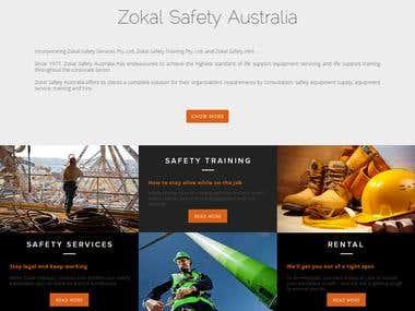 Zokal Security Services Website Design