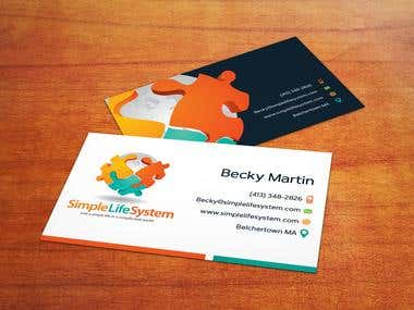 ogo and business cards for professional Speaker