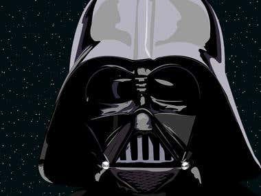 Lord Vader Illustration