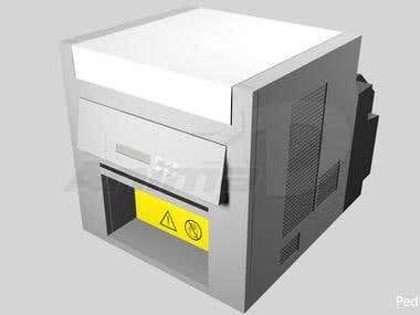Modelado 3D Kodak PP 6800