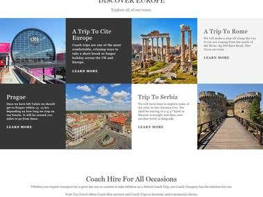 Building travel Company website for westtentravel.co.uk
