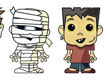 Halloween Characters -