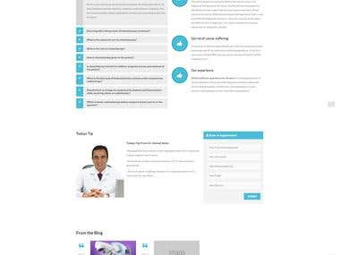 Doctor Website