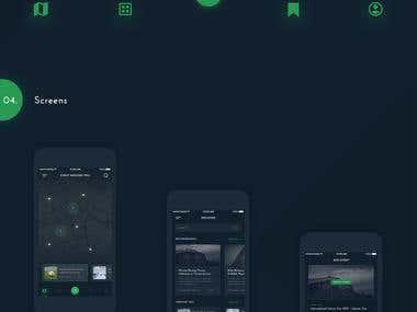 Event App Concept $60