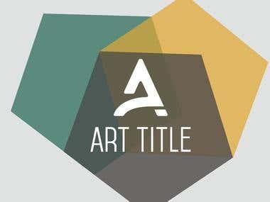 Art Title logo