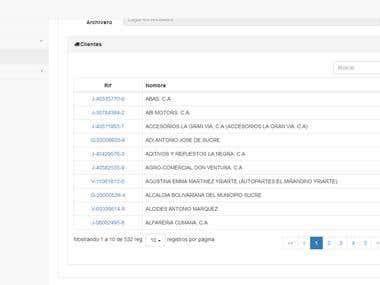 Sistema de Información para la Gestión de Clientes SIGCLI