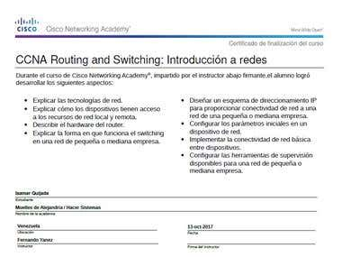 CCNA Routing and Switching: Introducción a las redes