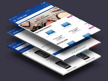 Mobile Application for an eCommerce Platform