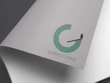 Logo for Golfers Choice company