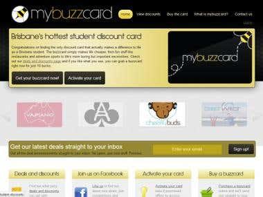 My BuzzCard