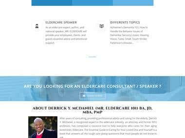 Eldercare website