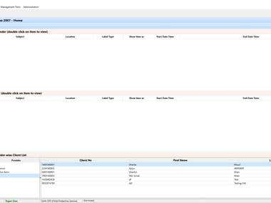 Medical based Desktop Application