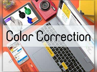 Color Correction with PhotoShop