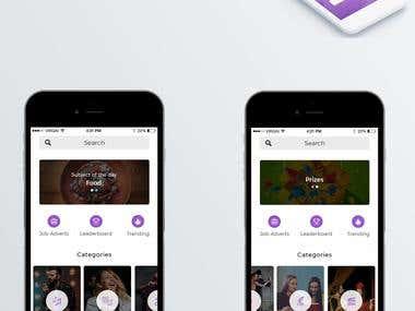 Pree Me App Design