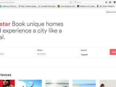 AirStar - Airbnb Clone