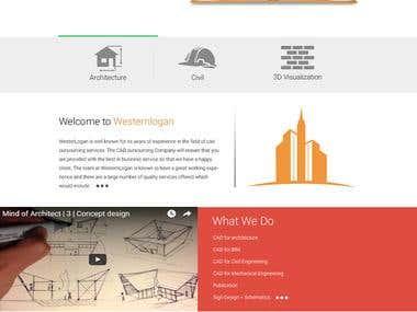 WesternLogan - Wordpress/ HTML/ CSS