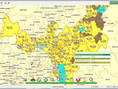 Gis with Business Intelligence