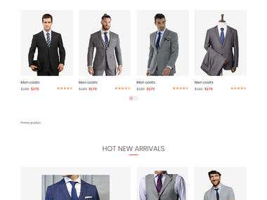 Men Custom Suits & Custom Shirts