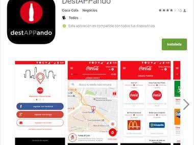 destAPPando Android