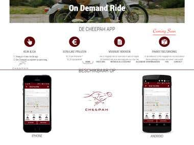 Cheepah ride Sharing Website